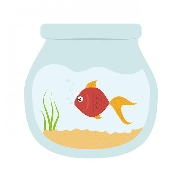 Fish clip-art image Free Vector