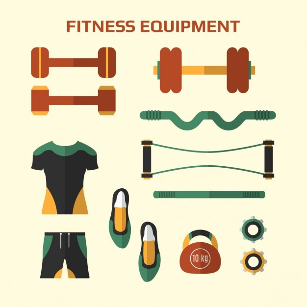 Fitness equipment pack