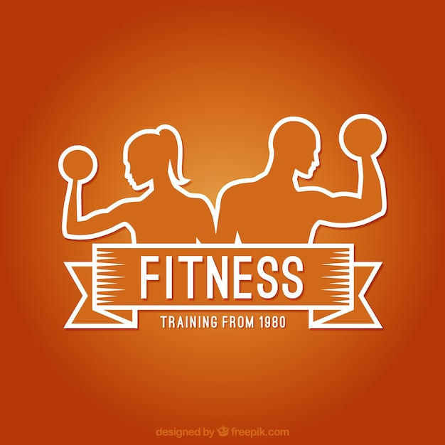 Image result for Fitness cartoon logo
