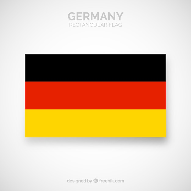 Flag of germany Free Vector