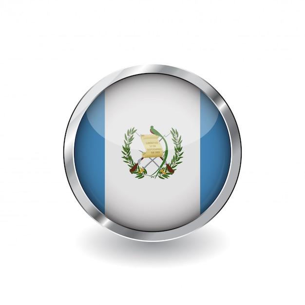 Flag of guatemala Premium Vector