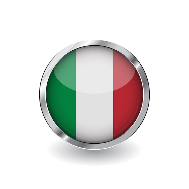 Flag of italy Premium Vector