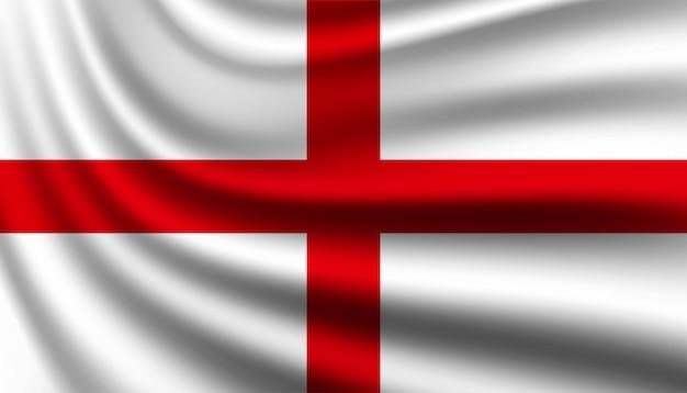 Флаг англии фон шаблона. Premium векторы