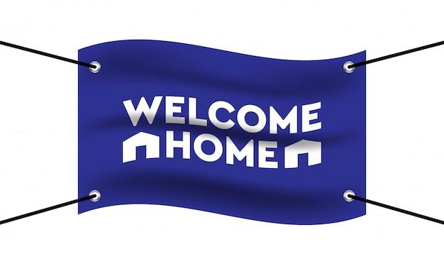 Welcome Home Template from image.freepik.com