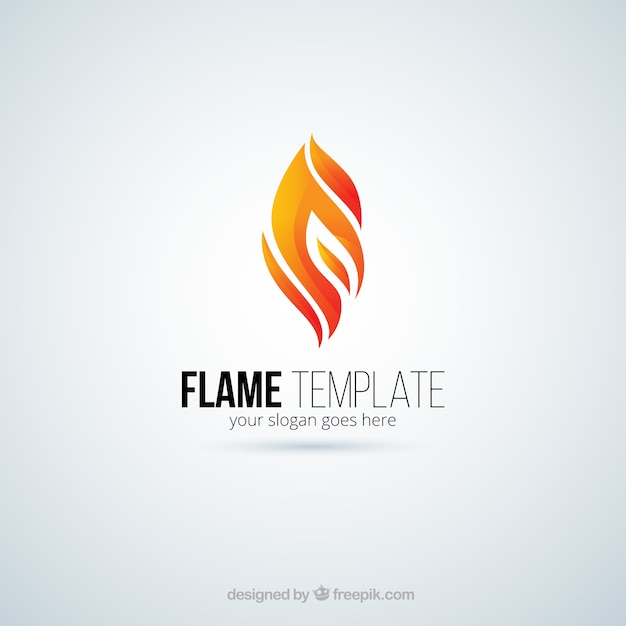 flame logo vector free download