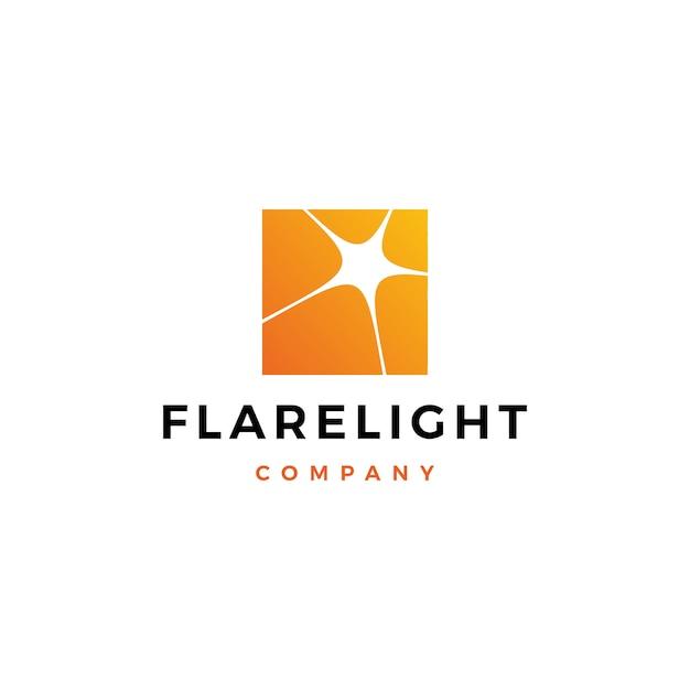 Flare light логотип скачать Premium векторы
