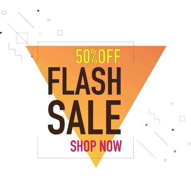 Flash Sale Background Design