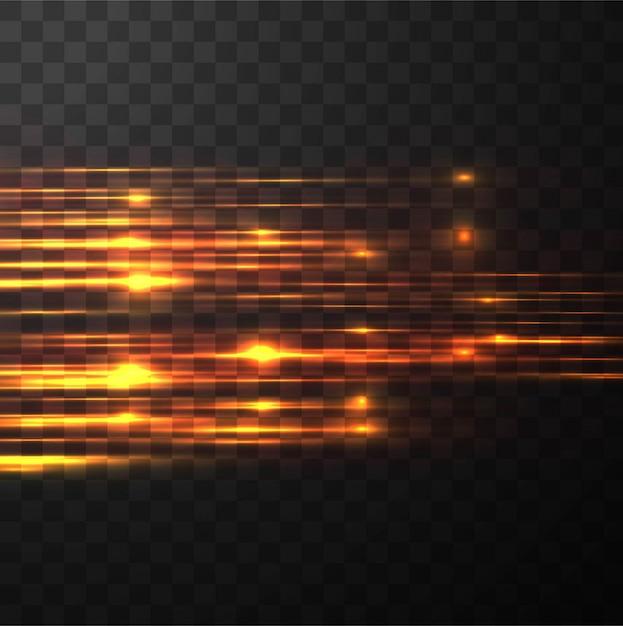 Flashing lights Free Vector