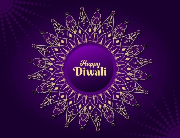 Плоский дизайн дивали индуистский цветок Бесплатные векторы