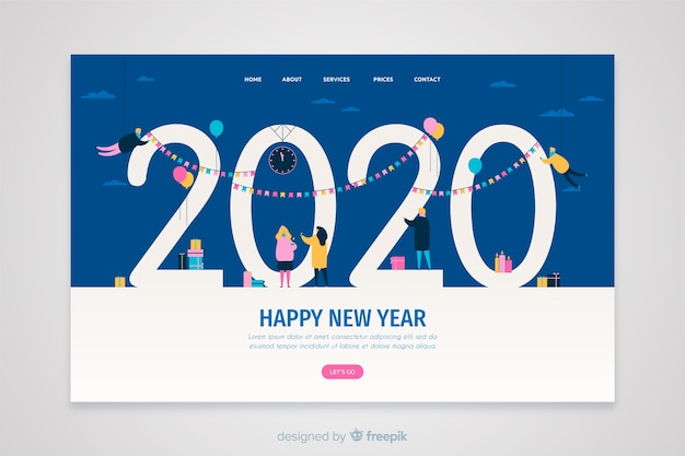 Happy New Year Design 23