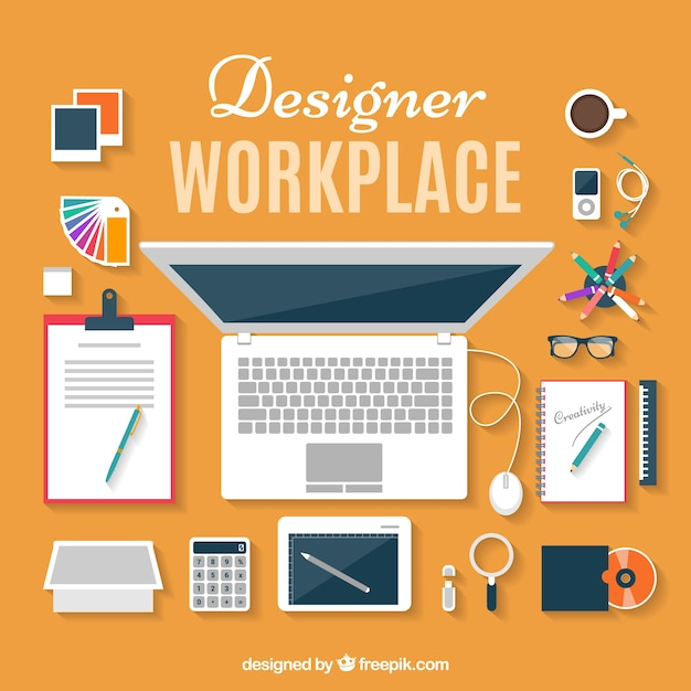 Workplace Vectors Photos And Psd Files Free Download