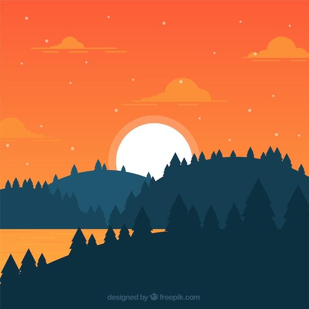 Mountain Flatdesign