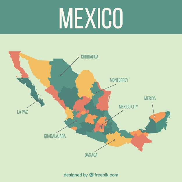 Mapa Do Mexico Fotos Baja California
