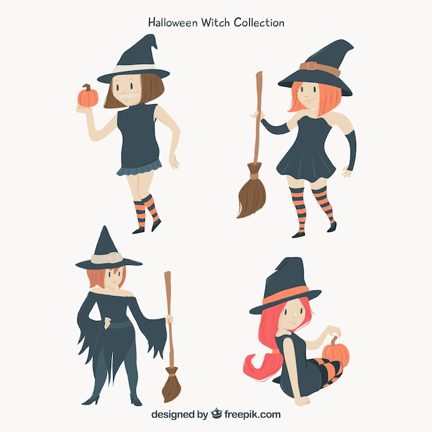 Flat pack of modern witches