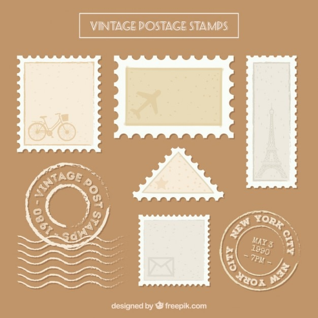 Postage stamp vectors photos and psd files free download reheart Choice Image
