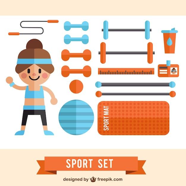 Flat sport tools pack