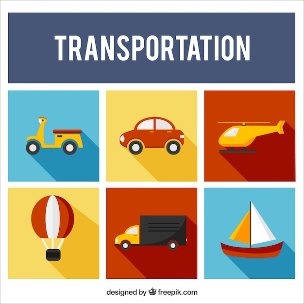 Flat Transportation Collection