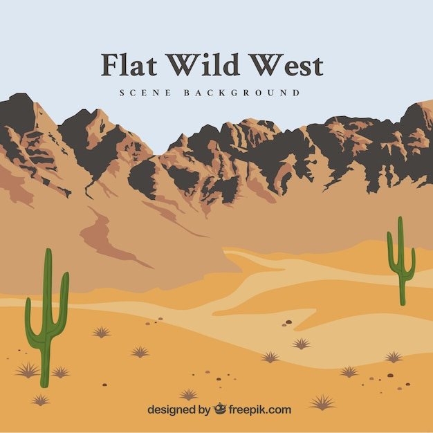 wild wild west background