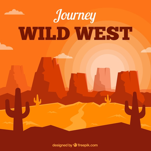 wild west background-#12