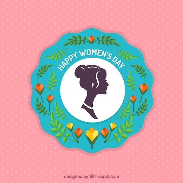 Плоский женский день Бесплатные векторы