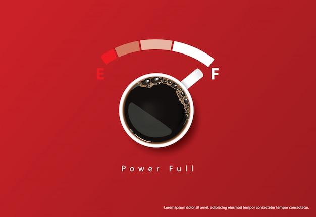 Кофе плакат реклама flayers иллюстрация Premium векторы
