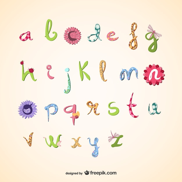 vector free download alphabet-#17