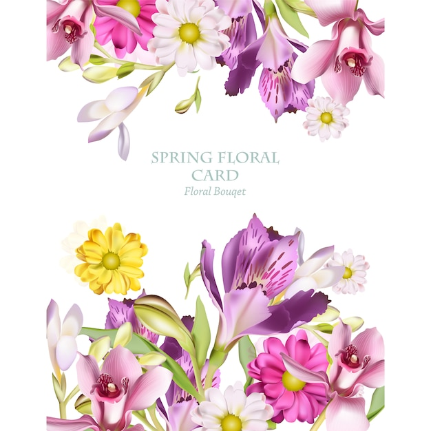 Psd flowers background