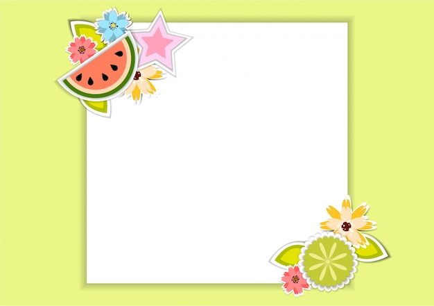 floral card design vector  free download