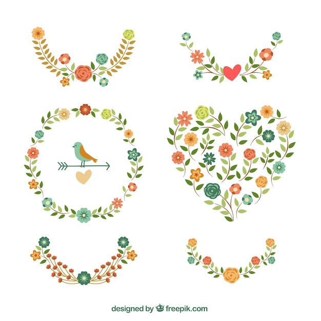 Floral Decoration floral decoration vector | free download