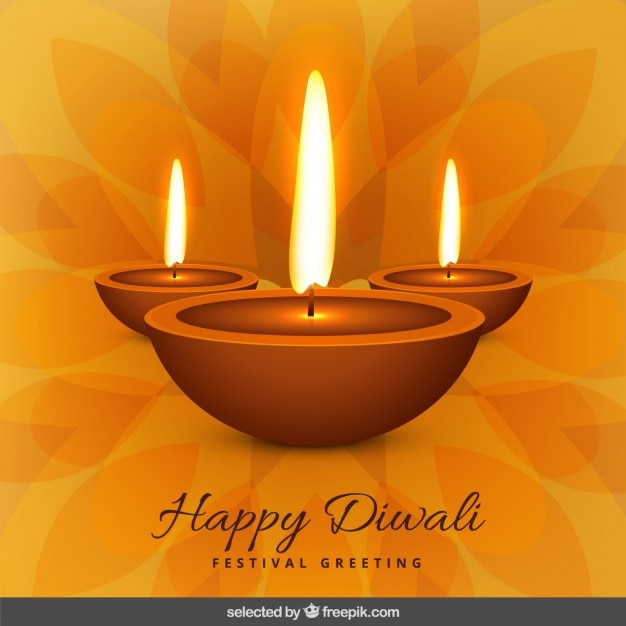 Floral diwali greeting vector free download floral diwali greeting free vector m4hsunfo
