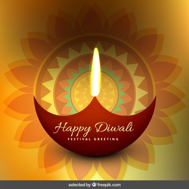 Floral diwali greeting vector free download floral diwali greeting free vector m4hsunfo