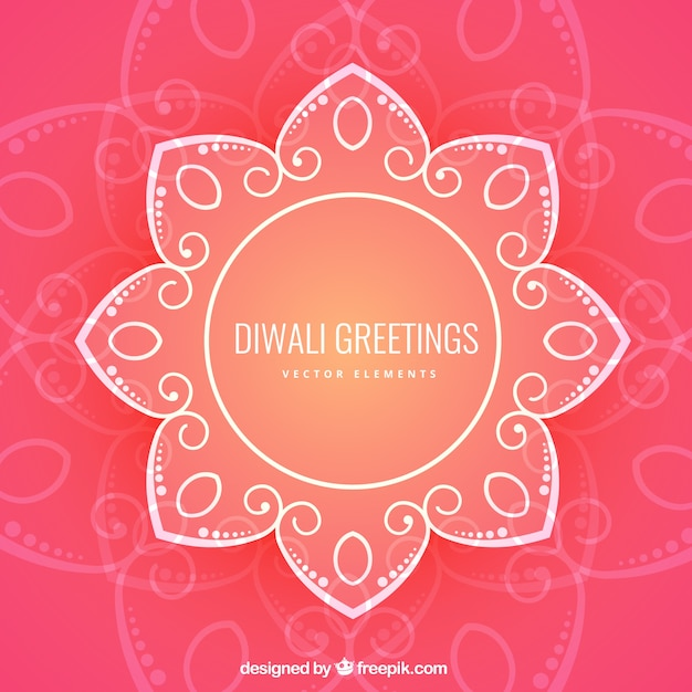 Floral diwali greetings vector premium download floral diwali greetings premium vector m4hsunfo