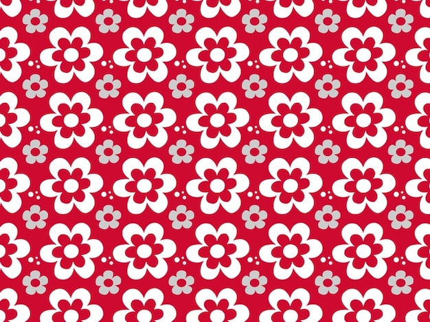 Floral flower graphics pattern vector Vector | Free Download