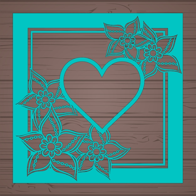 Floral Greeting Card Template Vector  Free Download