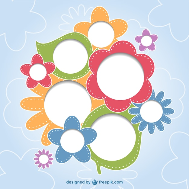 Floral Happy Background