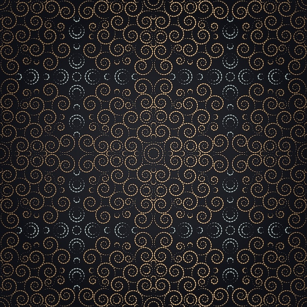 Floral Luxury Seamless Pattern Vector