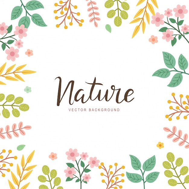 The Best Nature Frame Background