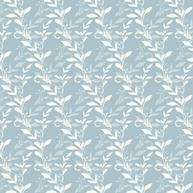 Floral pattern background Free Vector