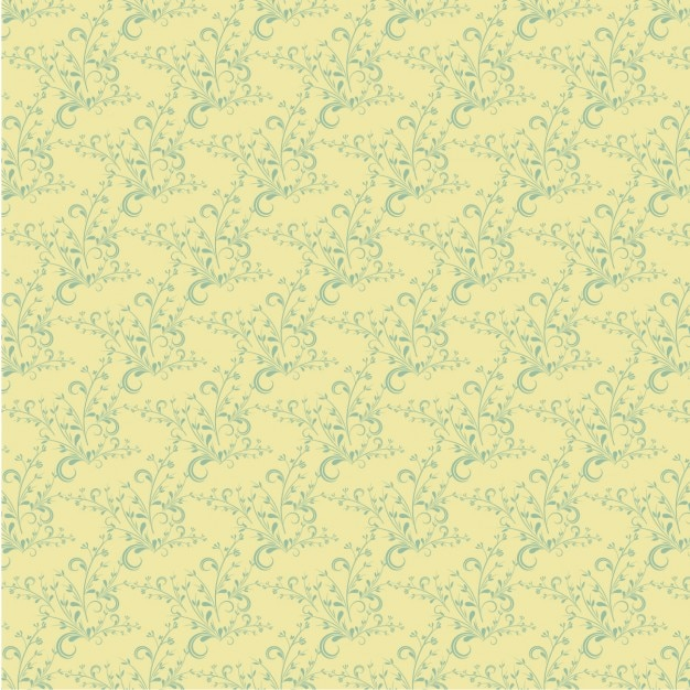 Floral pattern in victorian style Free Vector