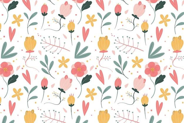 Floral pattern Premium Vector