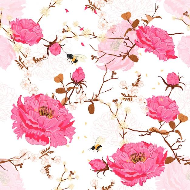 Floral pattern. Premium Vector