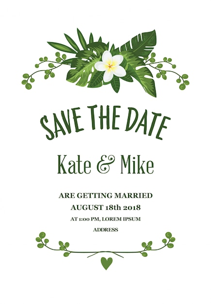 save the date cars