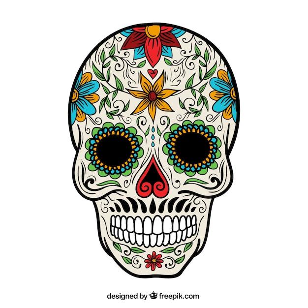 Sugar Skull Vectors, Photos and PSD files | Free Download