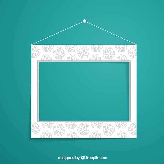 Floral wall frame vector free download for Cadre floral mural