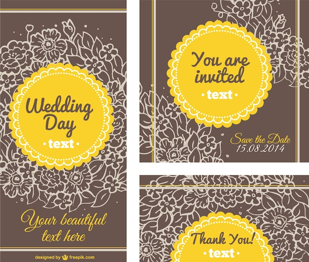 wedding card templates free download
