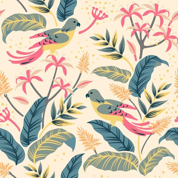 Flower background Free Vector