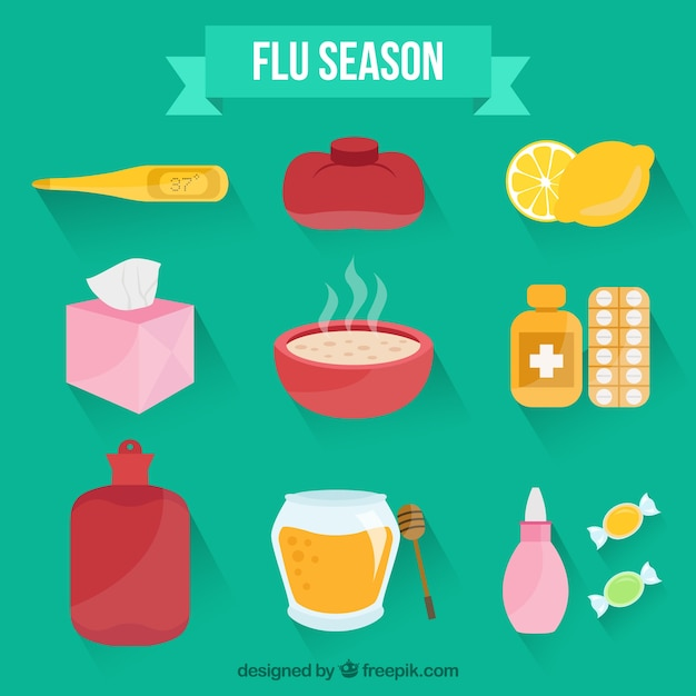 Flu season accessories
