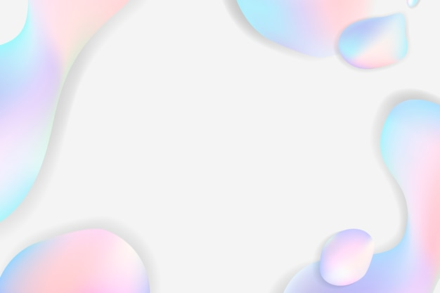 Fluid pastel background Free Vector