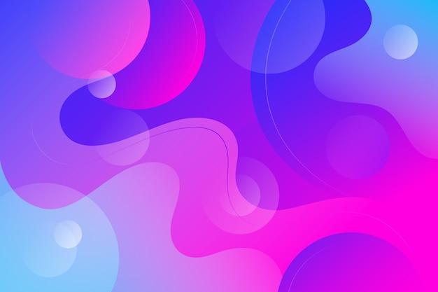 Флюид стиль фона Бесплатные векторы