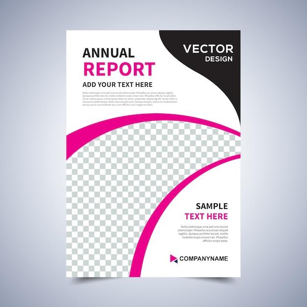 flyer design template vector leaflet design poster
